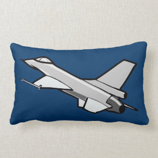 F16 Fighting Falcon Fighter Jet In Flight Pillows