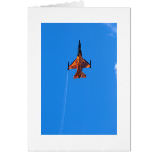 F16 Fighting Falcon Greeting Card