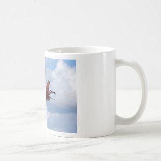 F16 Fighting Falcon Basic White Mug