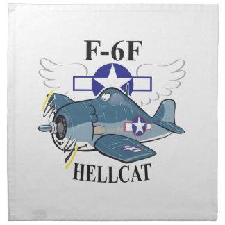 f6f hellcat napkin