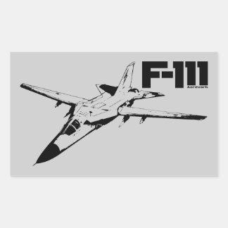 F-111 Aardvark Rectangular Sticker