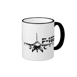 F-16 Fighting Falcon 11 oz Ringer Mug