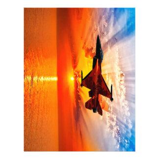 F-16 Fighting Falcon 21.5 Cm X 28 Cm Flyer