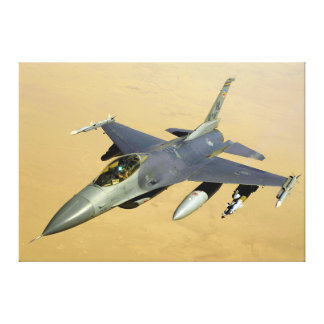 F-16 Fighting Falcon Block 40 aircraft Canvas Print