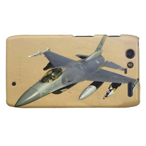 F-16 Fighting Falcon Block 40 aircraft Droid RAZR Covers