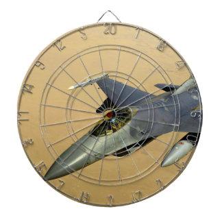 F-16 Fighting Falcon Block 40 aircraft Dartboard