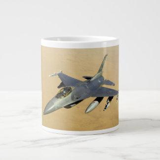F-16 Fighting Falcon Block 40 aircraft Large Coffee Mug