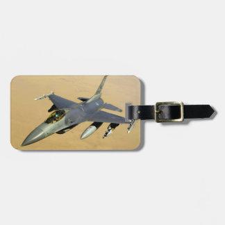 F-16 Fighting Falcon Block 40 aircraft Travel Bag Tag