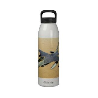 F-16 Fighting Falcon Block 40 aircraft Drinking Bottle