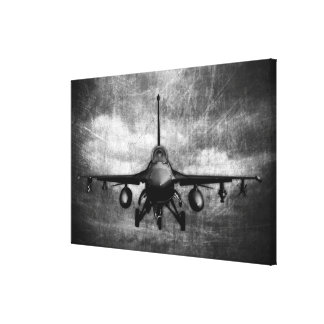 F-16 Fighting Falcon Stretched Canvas Print