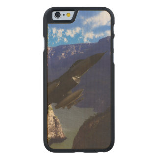 F-16 Fighting Falcon Carved® Maple iPhone 6 Case