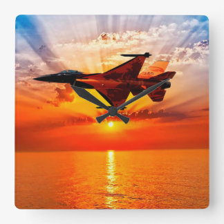 F-16 Fighting Falcon Clocks