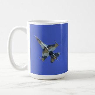 F-16 Fighting Falcon Electric Jet Basic White Mug