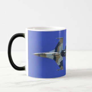 F-16 Fighting Falcon Electric Jet Morphing Mug