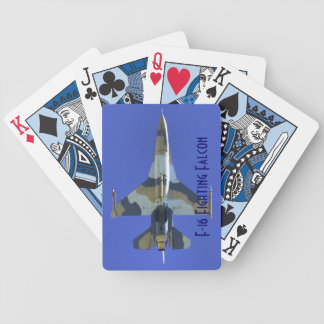 F-16 Fighting Falcon Electric Jet Bicycle Card Deck