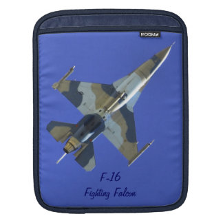 F-16 Fighting Falcon Electric Jet Your Text Sleeves For iPads