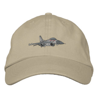 F-16 Fighting Falcon Embroidered Hat