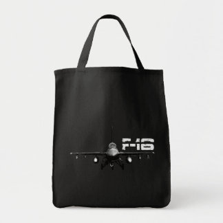 F-16 Fighting Falcon Grocery Tote