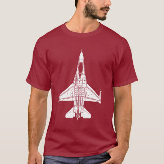 F-16 Fighting Falcon Jet Fighter T-Shirt