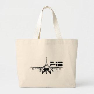 F-16 Fighting Falcon Jumbo Tote Jumbo Tote Bag