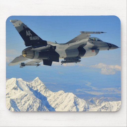 F-16 Fighting Falcon Mousepads