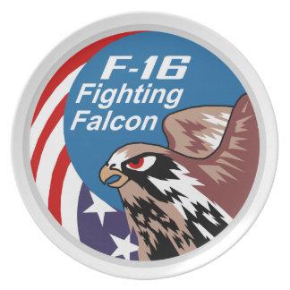 F-16 Fighting Falcon Plate