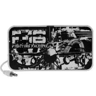 F-16 Fighting Falcon iPod Speakers