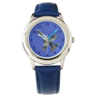 F-16 Fighting Falcon Tans Electric Jet Watches