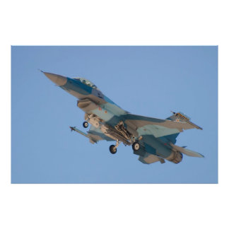 F-16C Fighting Falcon WA AF 86 271 Poster