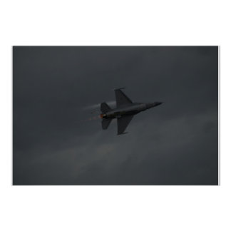 F-16C of the Viper East Demo Team. Poster