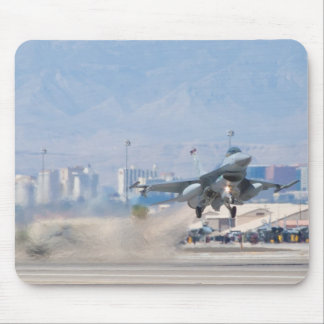 F-16CJ Fighting Falcon LF AF 97 112 Taking Off pad Mouse Pad