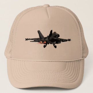 F/A-18 Hornet  Fighter Jet Trucker Hat
