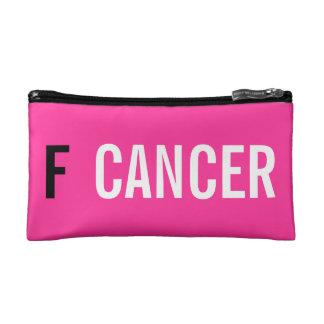 F CANCER MAKEUP BAGS