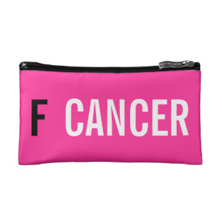 F CANCER MAKEUP BAGS