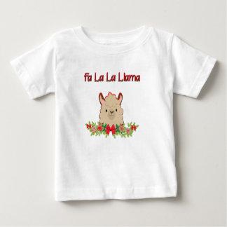 Fa La la Llama Baby T-Shirt
