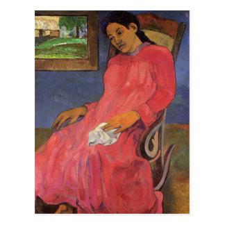 'Faaturuma (Melancholy)' - Paul Gauguin Postcard