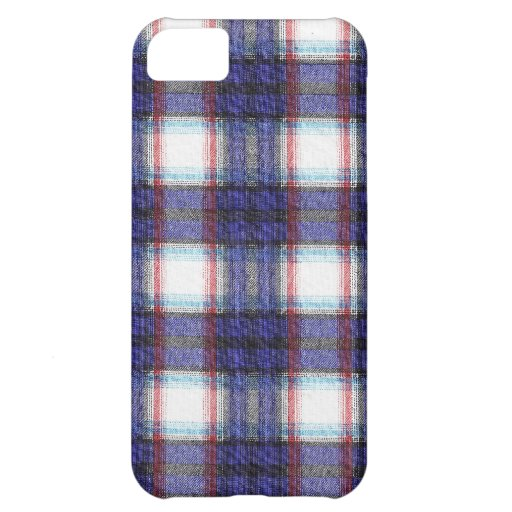 Fabric Checks modern design trend latest style fas iPhone 5C Case