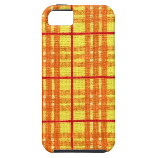 Fabric Checks modern design trend latest style fas iPhone 5 Cover
