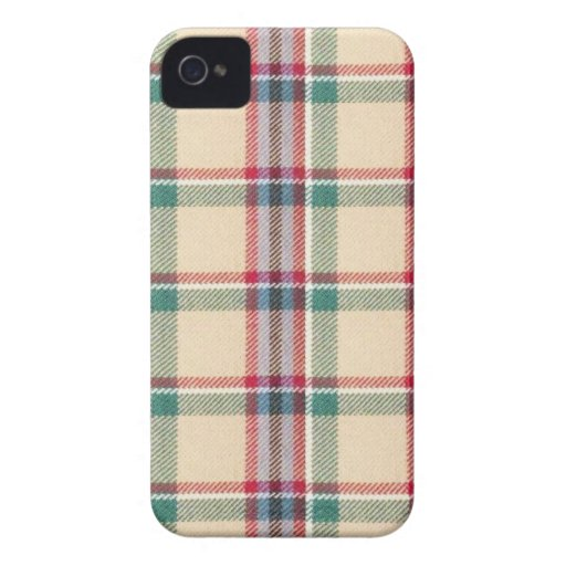 Fabric Checks modern design trend latest style fas Case-Mate iPhone 4 Cases