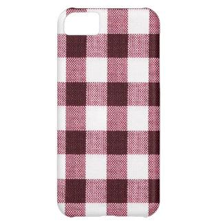 Fabric Checks modern design trend latest style fas iPhone 5C Case