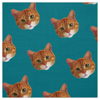 Fabric: Ginger cats Fabric