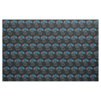 Fabric - Melty Cat (Black BG)