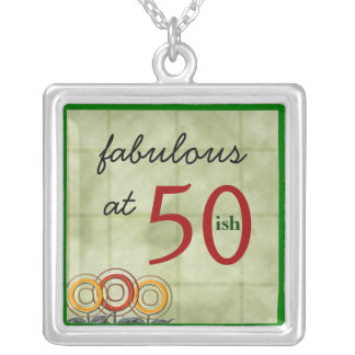 Fabulous at 50...ish... silver plated necklace