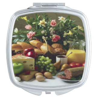 FABULOUS FOOD FEAST COMPACT MIRROR