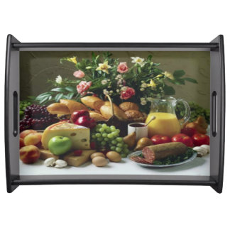 FABULOUS FOOD FEAST LARGE SERVING TRAY