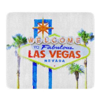 Fabulous Las Vegas Welcome Sign Cutting Board