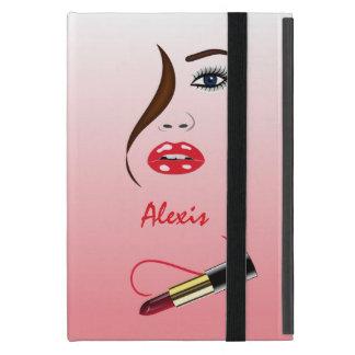 Face Lipstick in Mirror Powis iCase iPad Mini Case