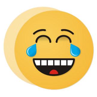 Face with Tears of Joy Card