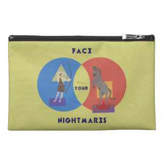 Face Your Nightmares Travel Accessory Bag