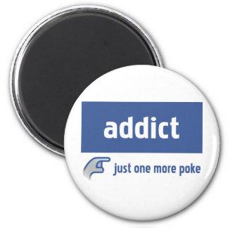 Facebook addict magnet